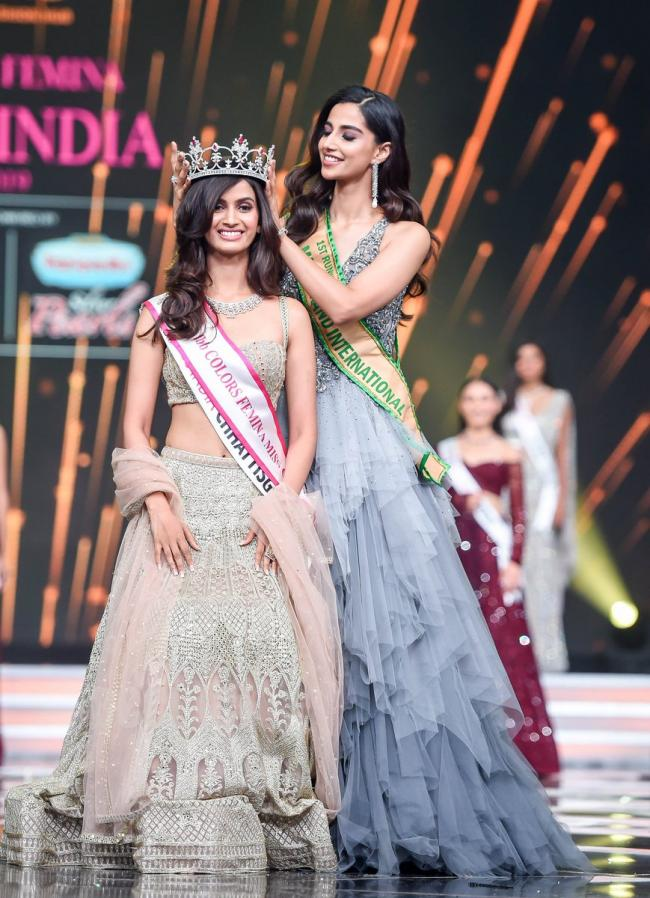 Miss India 2019 Beauty Contest Winners Photo Gallery