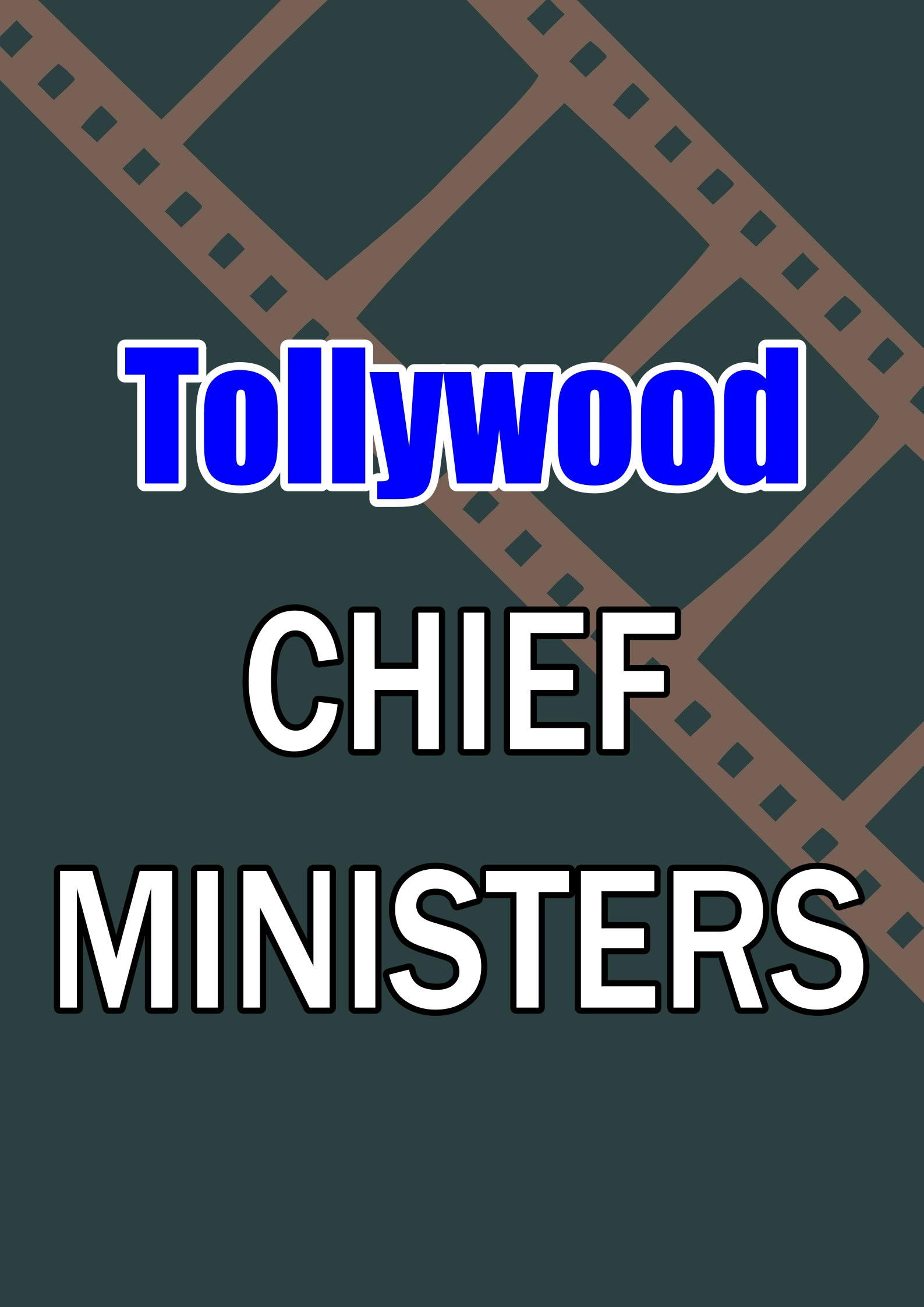 Tollywood Heroes Who Played Chief Minis...