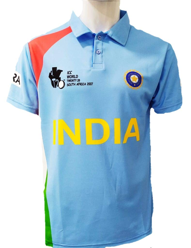 Indian T20 World Cup Jerseys From 2007 ...
