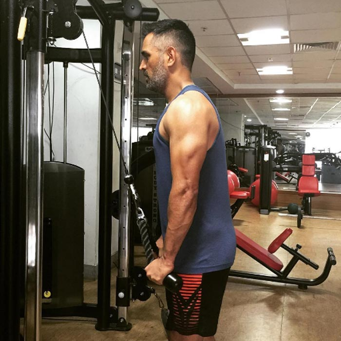 Ms Dhoni Fitness Secret And Workout Regime